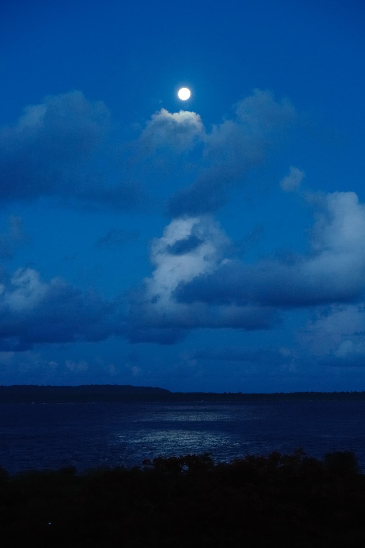 このように、月夜の光もかなり明るいものです。満月になると、1700万ゼ... 光を観ると書いて観