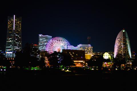 α7 ISO2500夜景サンプル
