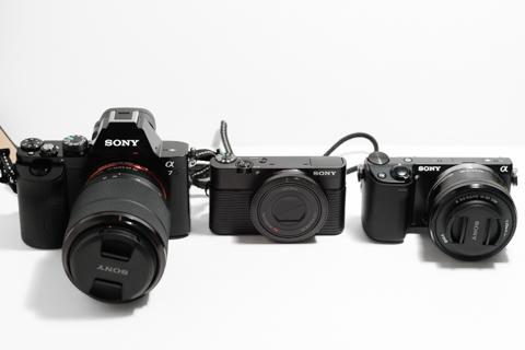 α7、NEX-5R、RX100比較