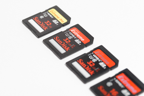 SanDiskのSDメモリーカード