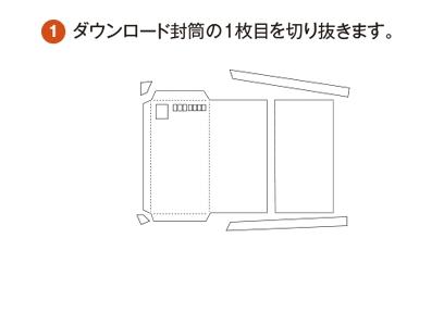 SONY封筒の組み立て方1
