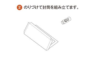 SONY封筒の組み立て方2