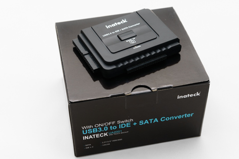 Inateck USB3.0HDDコンバータ6