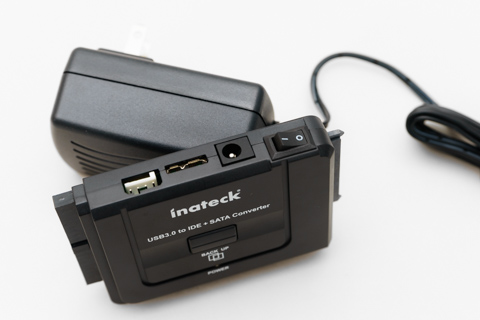 Inateck USB3.0HDDコンバータ8