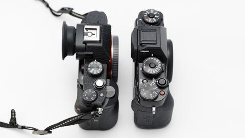 X-T1とα7