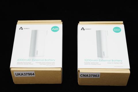 Aukey 6000mAh モバイルバッテリー PB-N11