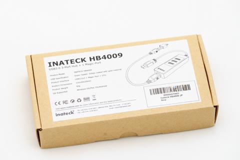 マジックポート付きUSBハブ HB4009