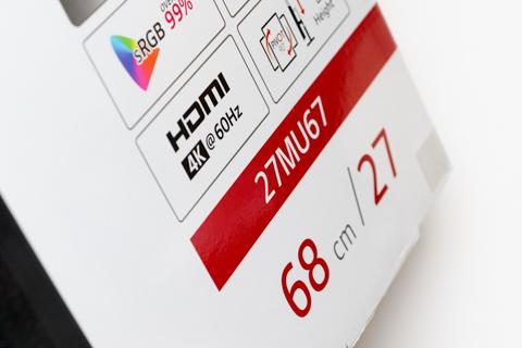 LG Electronics Japan 27型 4K 27MU67-B