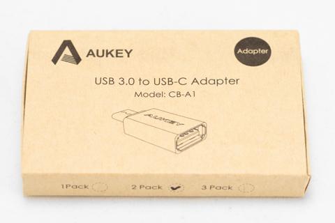 Aukey USB3.0 USB(�) to Type-C�����ץ����Ѵ����ͥ��� CB-A1