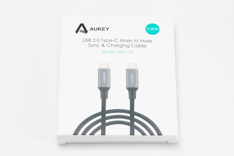 Aukey USB2.0 Type C to Type C ケーブル CB-CD5