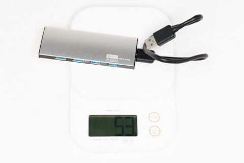 ARINO USB3.0 4ポートハブ アルミ製
