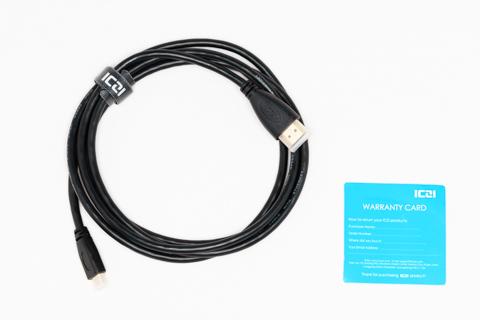 ICZI Micro HDMI ( D������ ) - HDMI (A������) �Ѵ� �����֥� 1.8m