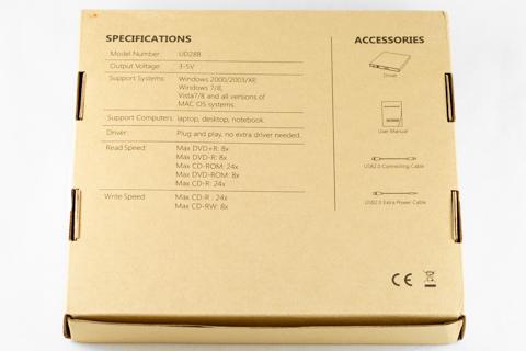 Qtuo USB2.0�б� �ݡ����֥�ɥ饤�� CD-RW/DVD���դ��ץ쥤�䡼