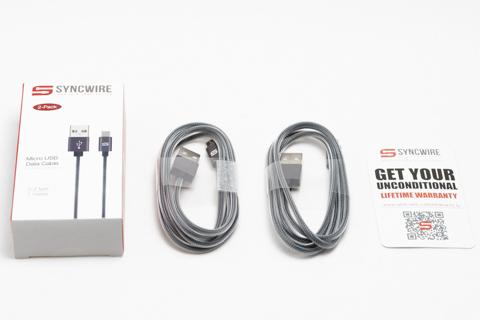 Syncwire Micro USBケーブル 高耐久ナイロン