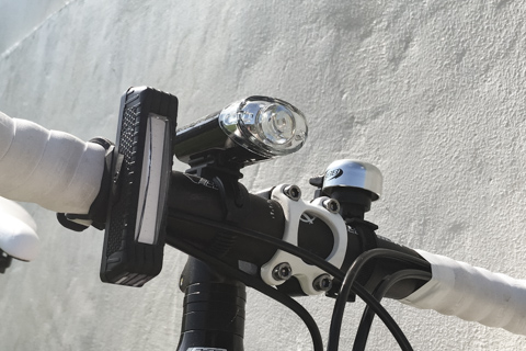 Unique Spirit 自転車ライトusb充電式 赤・青転換