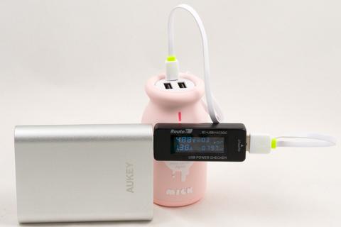 Kingda JS 10000mAh 牛乳瓶 モバイルバッテリー