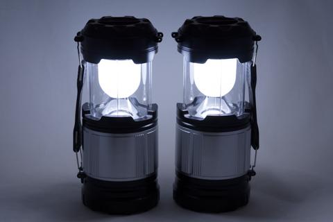 Qtop LED ランタン キャンプLEDライト 2個セット