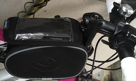 ROSWHEEL 自転車用フロントトップチューブバッグ