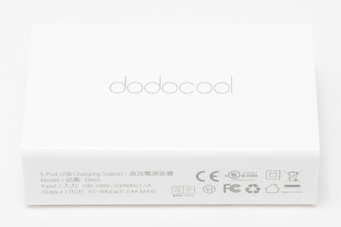 dodocool USB充電器 40W 5ポート