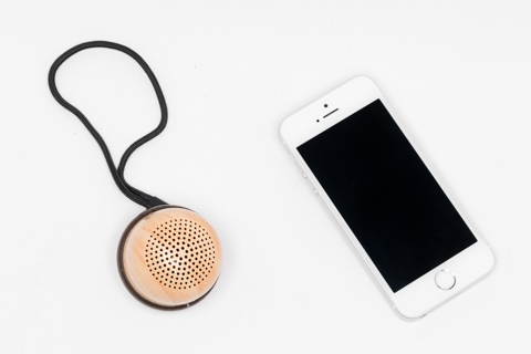 EC Technology どんぐりデザイン ポータブル Bluetoothスピーカー