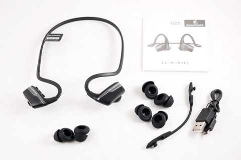 SoundPEATS Bluetooth イヤホン Q25