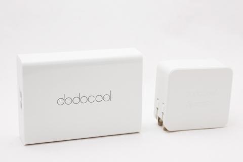 dodocool 2ポート USB急速充電器 USB-C Type-C充電器 QC3.0 18W+Type-C 15W 折りたたみ式プラグ搭載