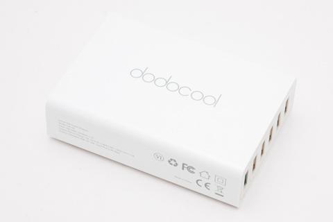 dodocool 58W 6ポート USB充電器 急速充電3.0 急速充電可能1.5M電源ケーブルに付き iPhone / iPad / Androidスマホ/タブレットに対応(ホワイト)