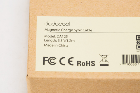 dodocool Micro USB磁力ケーブル