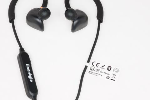 iina-style Bluetooth イヤホン 防水 IPX7