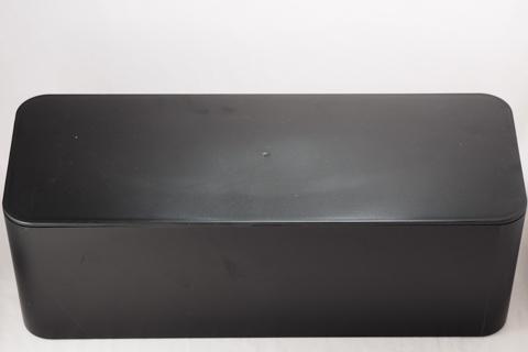 Baskiss 電源タップ & ケーブルボックス テーブルタップ収納ボックス