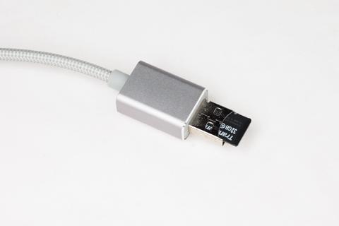 dodocool マイクロSDカードスロット内蔵Lightningケーブル