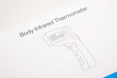 LERVING 赤外線 体温計